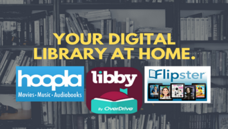 Your Digital Library at Home - Hoopla, Libby, Flipster