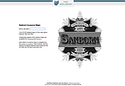 Sanborn Fire Maps screenshot